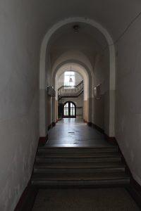 Hallway - mind the steps