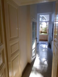 Hallway looking at the entrance